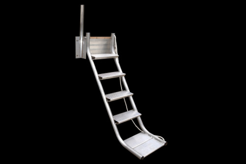 five step stair ladder full size